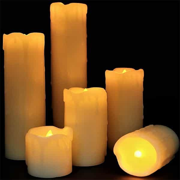 Top 10 Best Flameless Candles With Timer Reviews In 2019