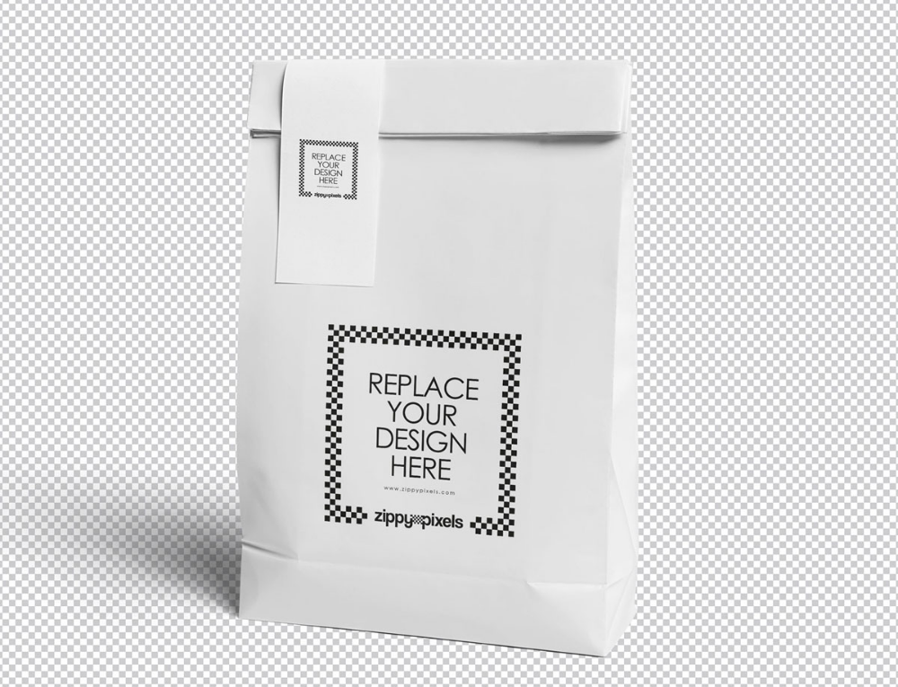 Download Awesome Paper Bag Mockup Woth Lable Free Package Mockups Bag Mockup Pouch Packaging Paper Pouch