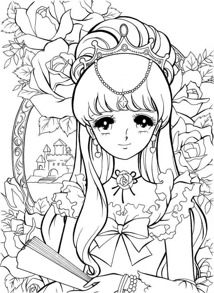 cute people coloring pages - photo#30