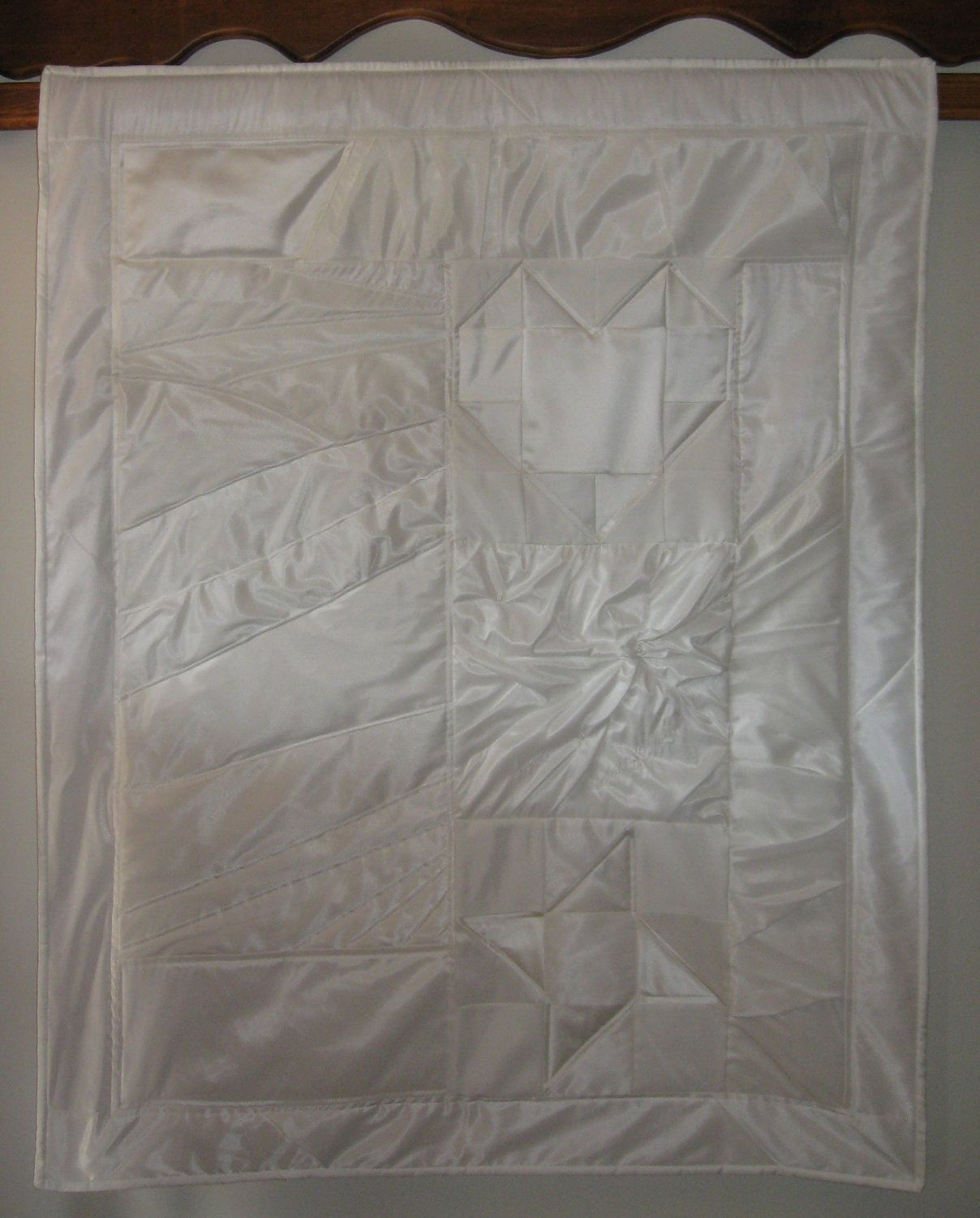 Wedding Dress Quilt Get Your Wedding Dress Out By