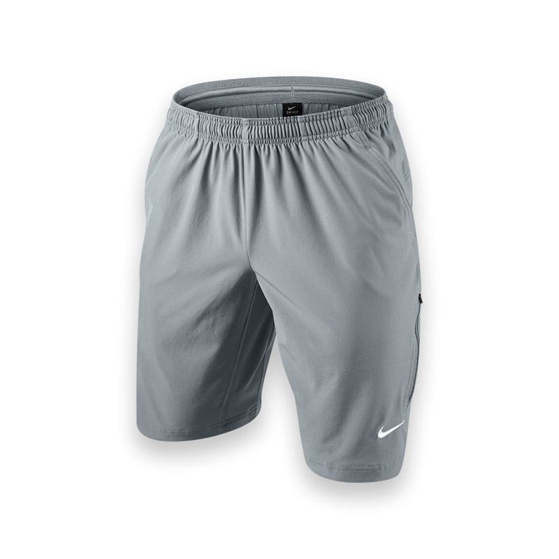 Nike NET 11 Inch Woven Short - Stadium Grey � Tennis ShortsNike TennisTennis  FashionWorkout