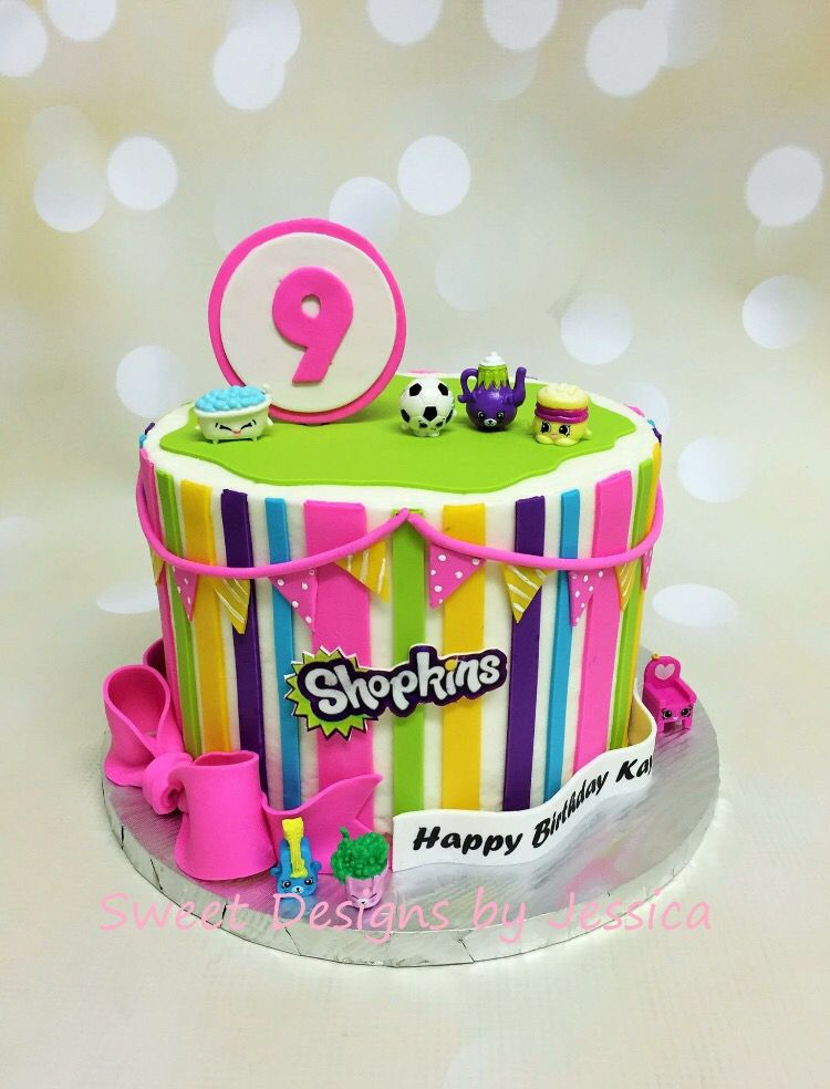 shopkins themed bday cake | my cakes | pinterest | shopkins and cake