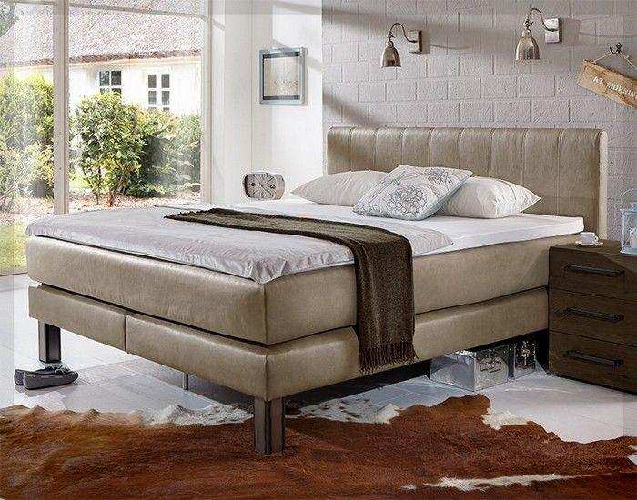 Moderne Schlafzimmer Mit Boxspringbett Ideen #schlafzimmerdekorieren  #schlafzimmerdesign #schlafzimmerideen #einrichtungstipps #einrichtungsidee  #