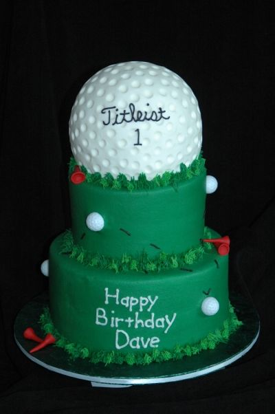 Incredible Golf Birthday With Images Golf Birthday Cakes Golf Cake Golf Funny Birthday Cards Online Eattedamsfinfo