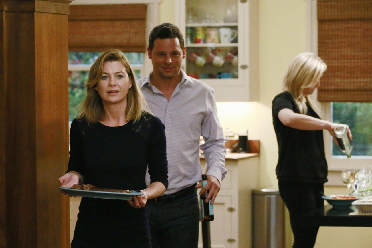 Grey\'s Anatomy: Get a Sneak Peek at Meredith\'s Dinner Party From ...