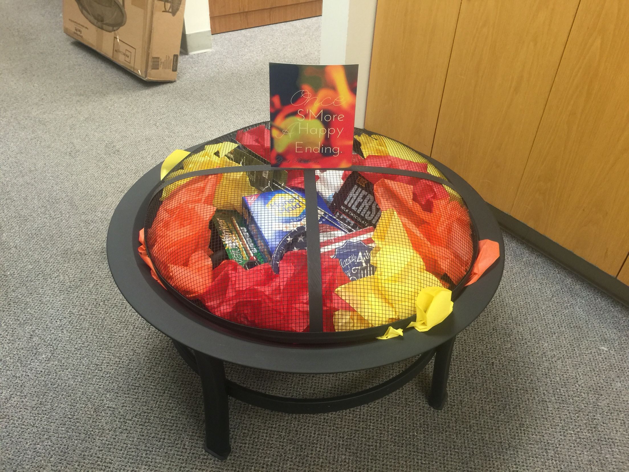 #fire #pit #gift #basket #idea #smores #snacks #creative # ...