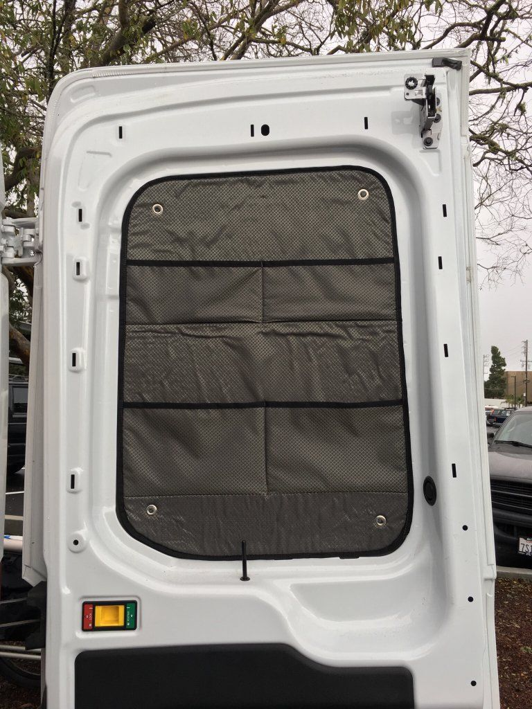 Insulated Window Covers Ford Transit Usa Forum Window Insulation Ford Transit Window Coverings