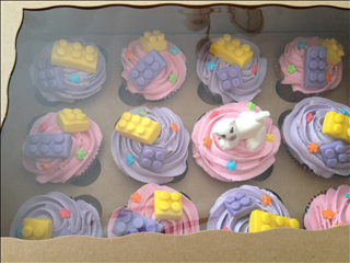 Lego Friends Cupcakes My Baked Creations In 2019 Lego Friends
