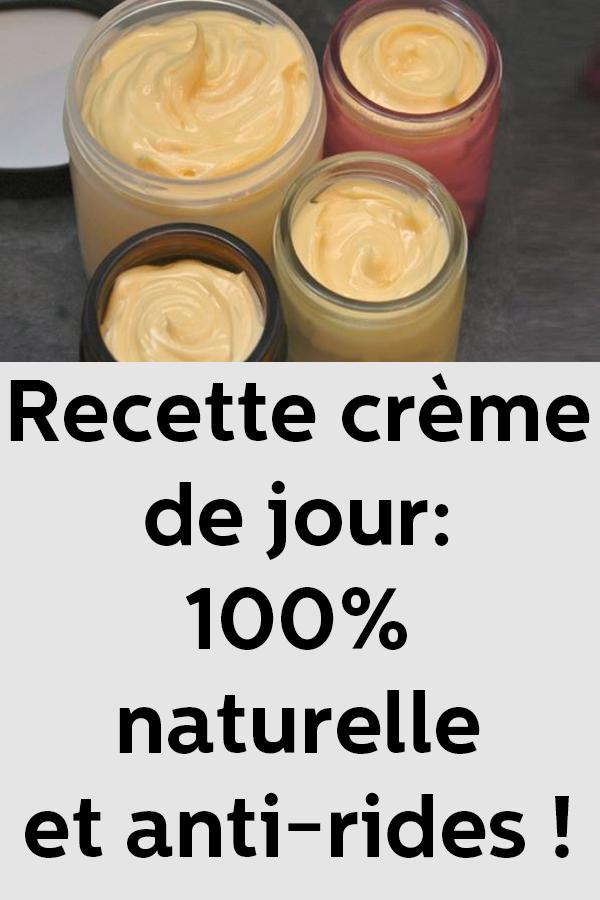 Recette crème de jour: 100% naturelle et anti-rides