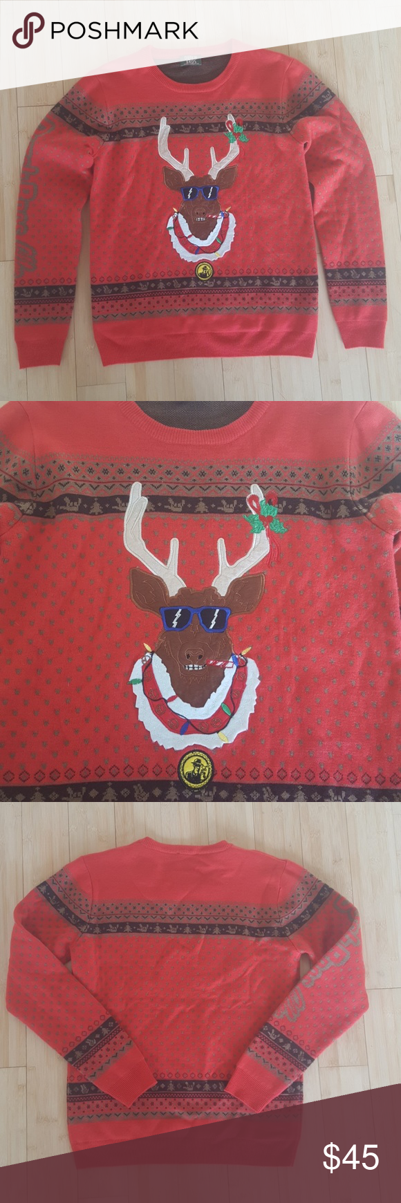 Christmas Sweater Dutch Bros. Ugly sweater Awesome Christmas sweater from Dutch Bros in excellent conditon. Worn maybe 3 times, never to work. Dutch Bros. Sweaters Crew & Scoop Necks #dutchbros Christmas Sweater Dutch Bros. Ugly sweater Awesome Christmas sweater from Dutch Bros in excellent conditon. Worn maybe 3 times, never to work. Dutch Bros. Sweaters Crew & Scoop Necks #dutchbros