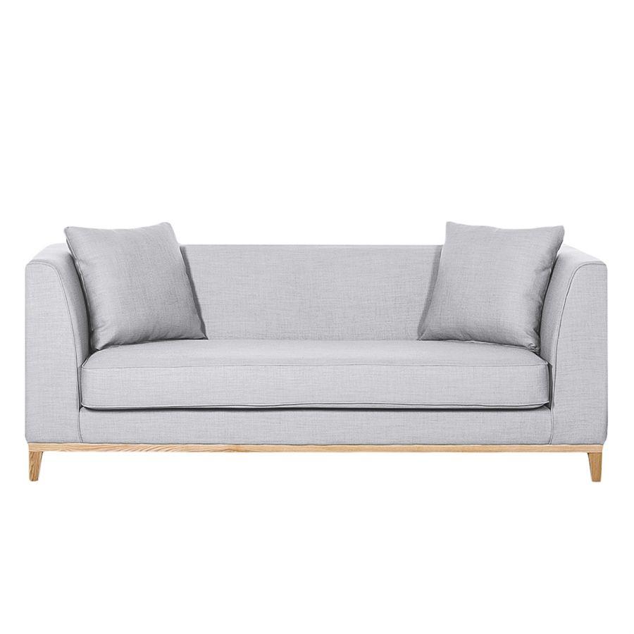 Divano Blomma (3 sedute) Divani, Divano e Tessuto grigio