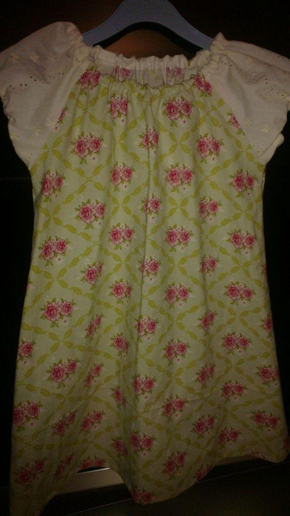 12b33692 Søt kjole 5 til 7 år. | Strikking Knitting Hekling Crochet | Søte ...