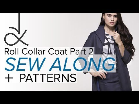 Sewing a Coat, A Sew Along. Part 1, The Sewing Pattern - YouTube ...