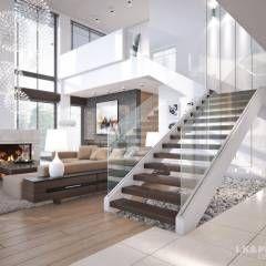 wohnzimmer einrichtung, design, inspiration und bilder | modern ... - Wohnzimmer Mit Galerie Modern