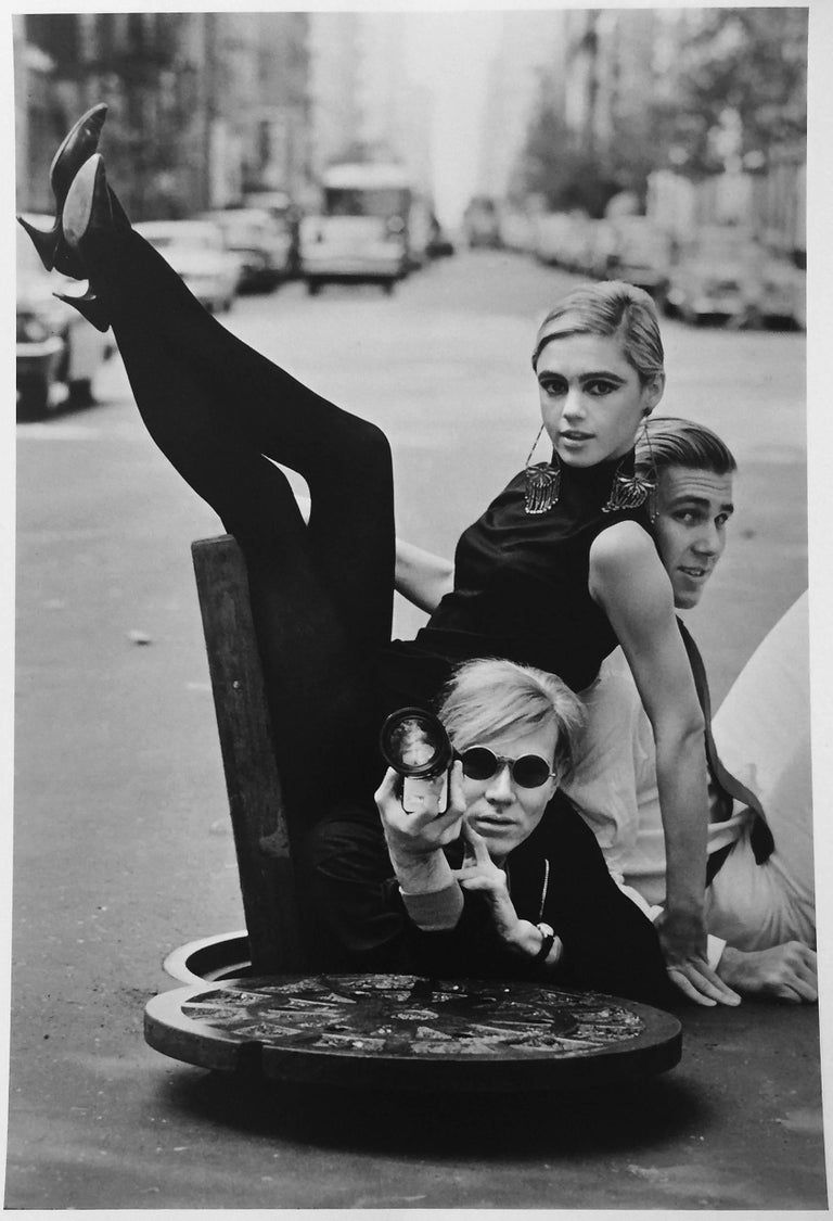 Burt Glinn - Andy Warhol, Edie Sedgwick, Chuck Wein, Photograph of Pop Art Superstars 1960s