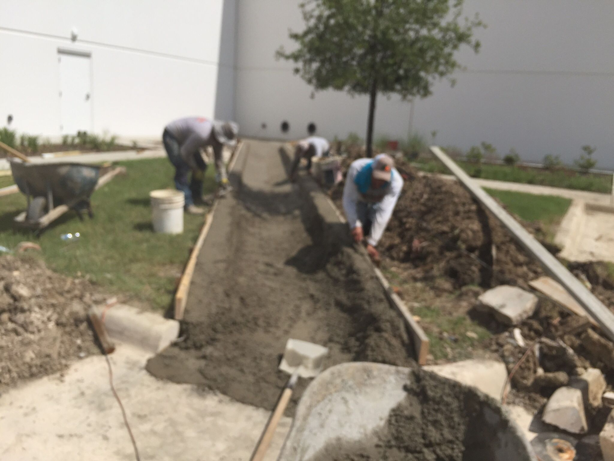Concrete Flume For Drainage Landscaping Company Drainage Channel Drainage Solutions