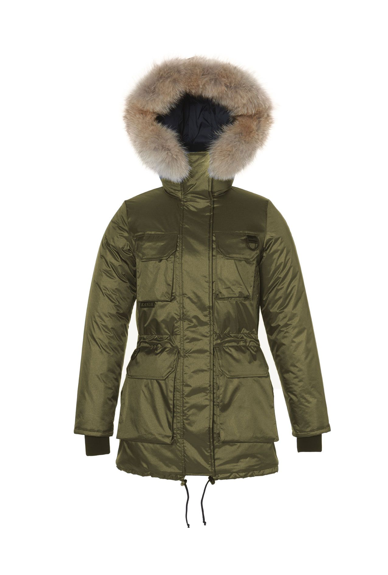 The Kanuk Arctic jacket, renowned for its warmth, light weight and comfort. Double