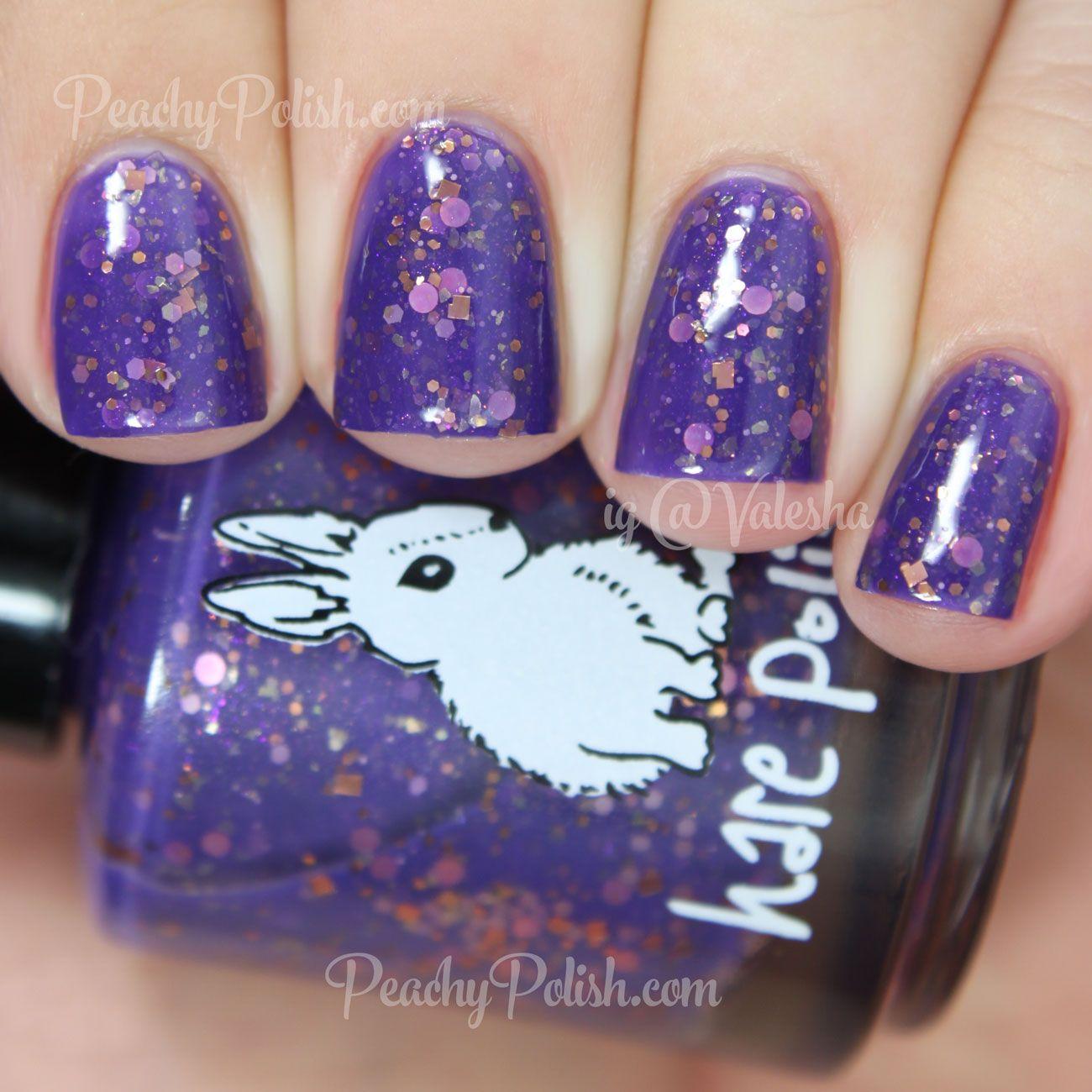 Hare Polish Regency Miss Peachy Polish Nail Polish Polish Nails