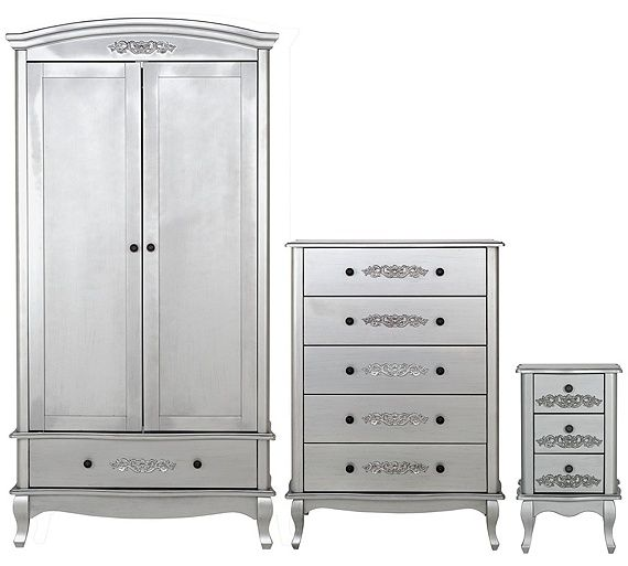 Buy Collection Sophia 3 Piece 2 Door Wardrobe Package