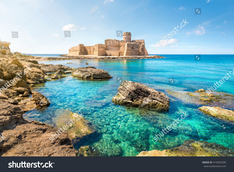 Le Castella at Capo Rizzuto, Calabria, Italy Lugares