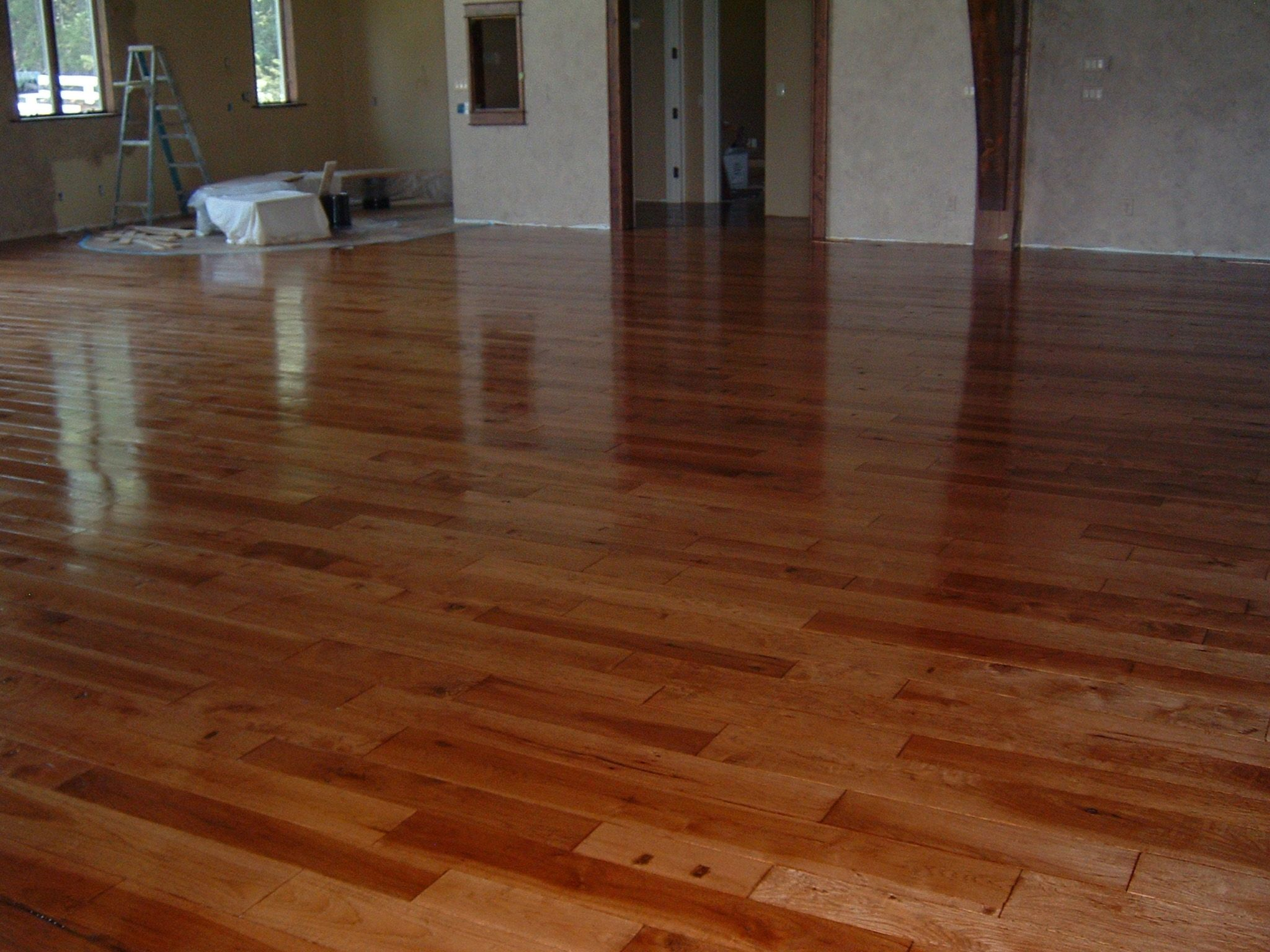 Epoxy Over Old Wood Floor