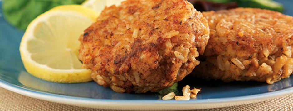 Minute® - Amazin' Crab Rice Cakes - Make your Amazin' Crab Rice Cakes and eat 'em, too.