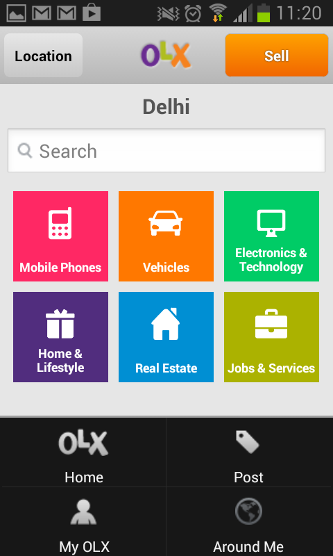Olx Old Mobile