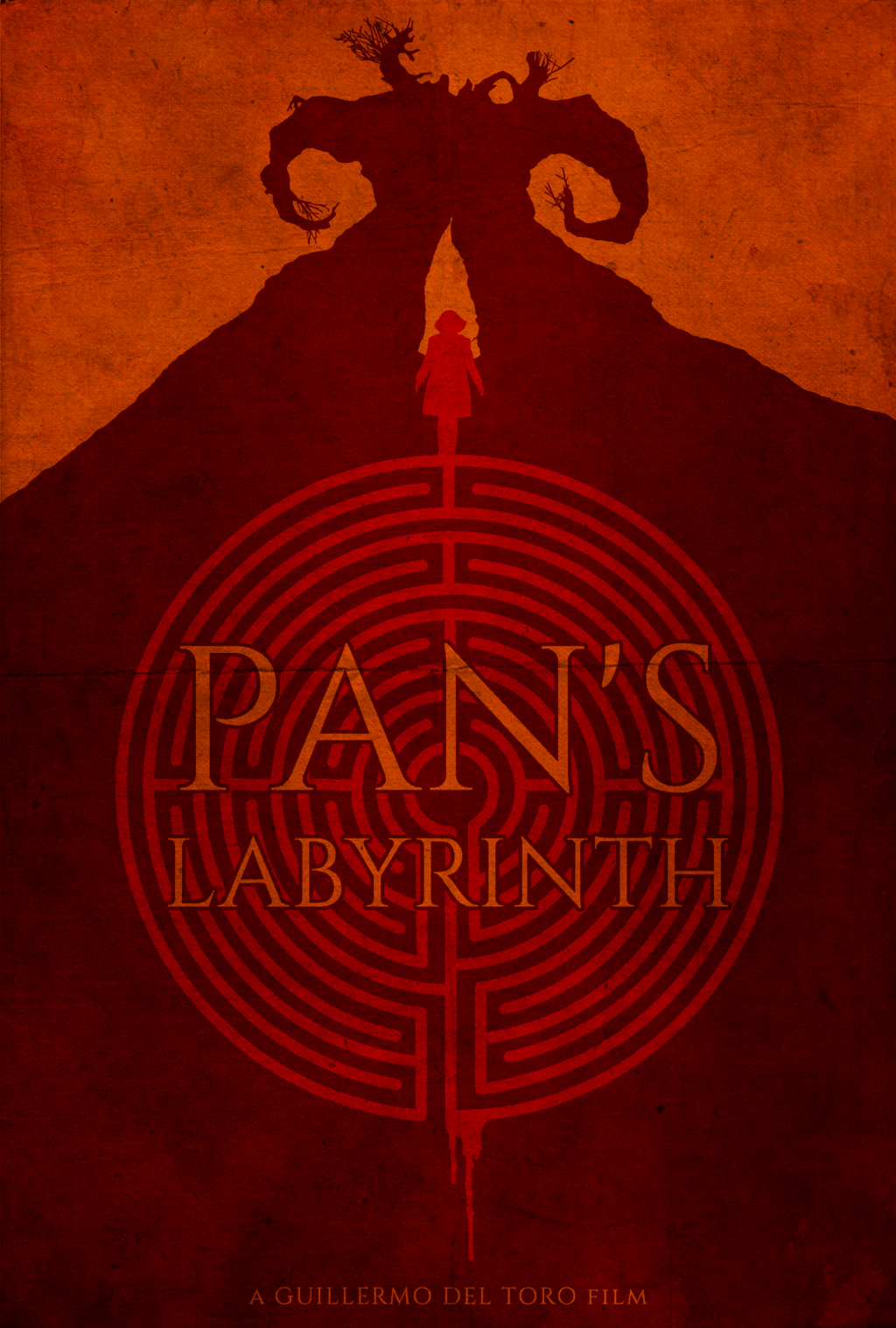 PAN/'S LABYRINTH POSTER A4 A3 A2 A1 CINEMA MOVIE LARGE FORMAT ART DESIGN
