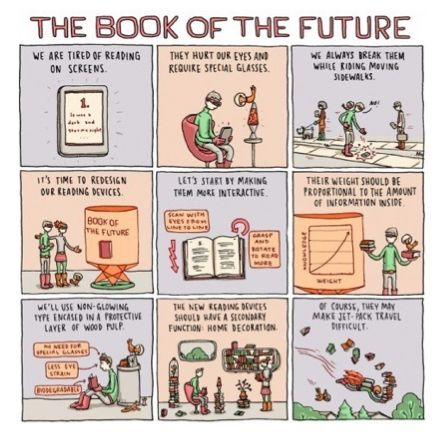 Bk of the future?  The Socially Speaking™ Experience in a book:  http://amzn.to/1dAWirU