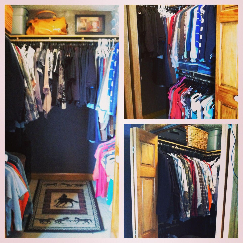 Closet Redesign Complete.