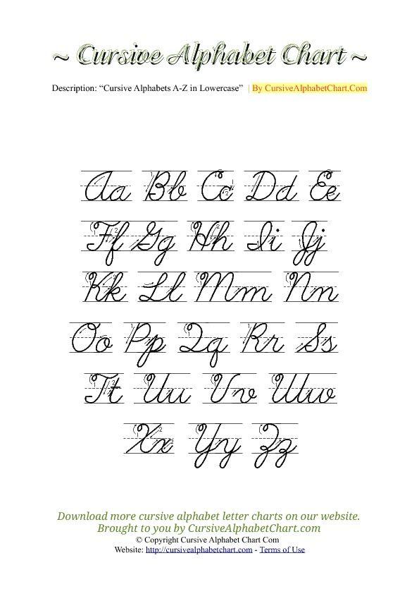 Capital Cursive A : capital, cursive, Uppercase, Lowercase, Cursive, Alphabet, Charts, Arrows, Chart,, Writing,, Chart