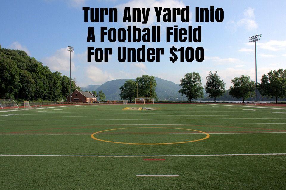 DIY Cheap Football Goal Post Anyone Can Assemble ...