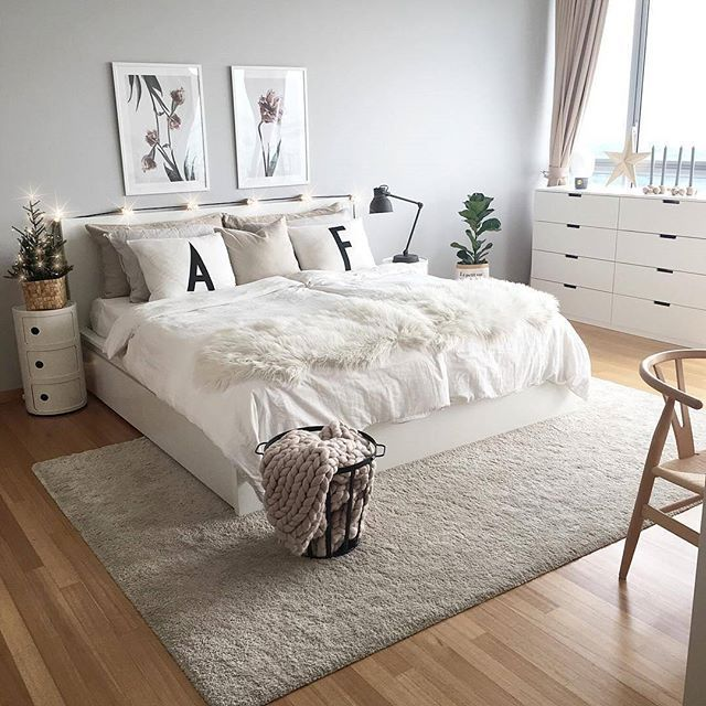 42 Gorgeous Grey Bedrooms: Pin By Farida Nur On Badroom Ideas In 2019