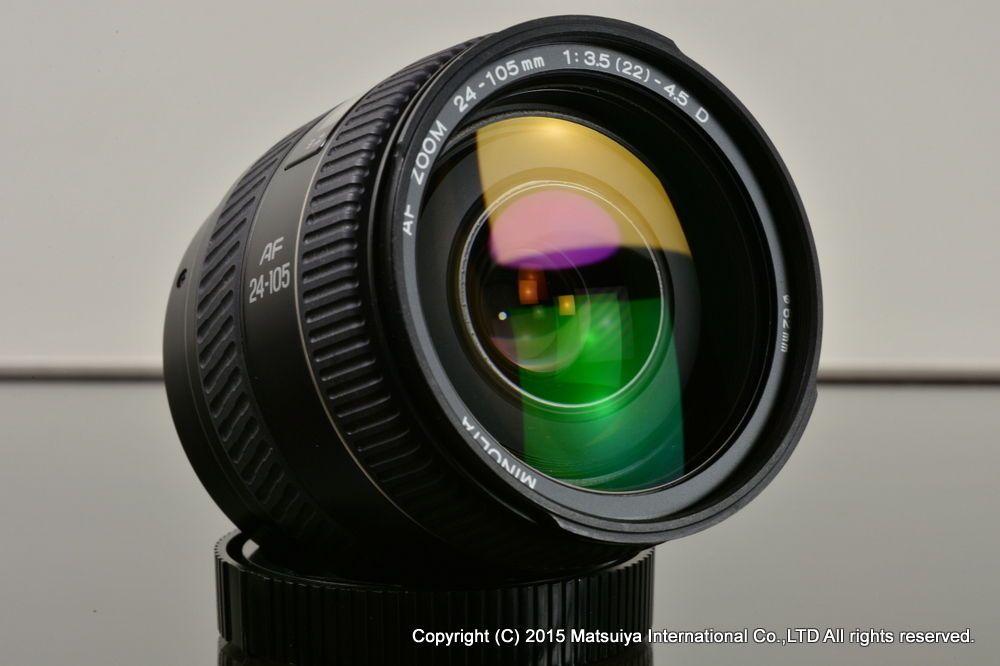 Minolta Af 24 105mm F 3 5 4 5d Excellent 5 4 Excellence Ebay