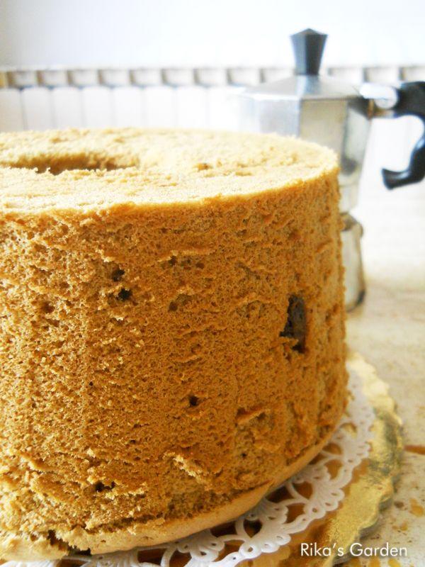 Rika's Garden: Chiffon cake