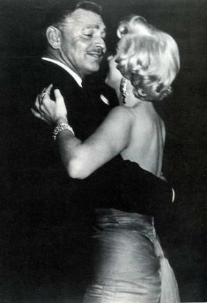 Clark Gable, Marilyn Monroe