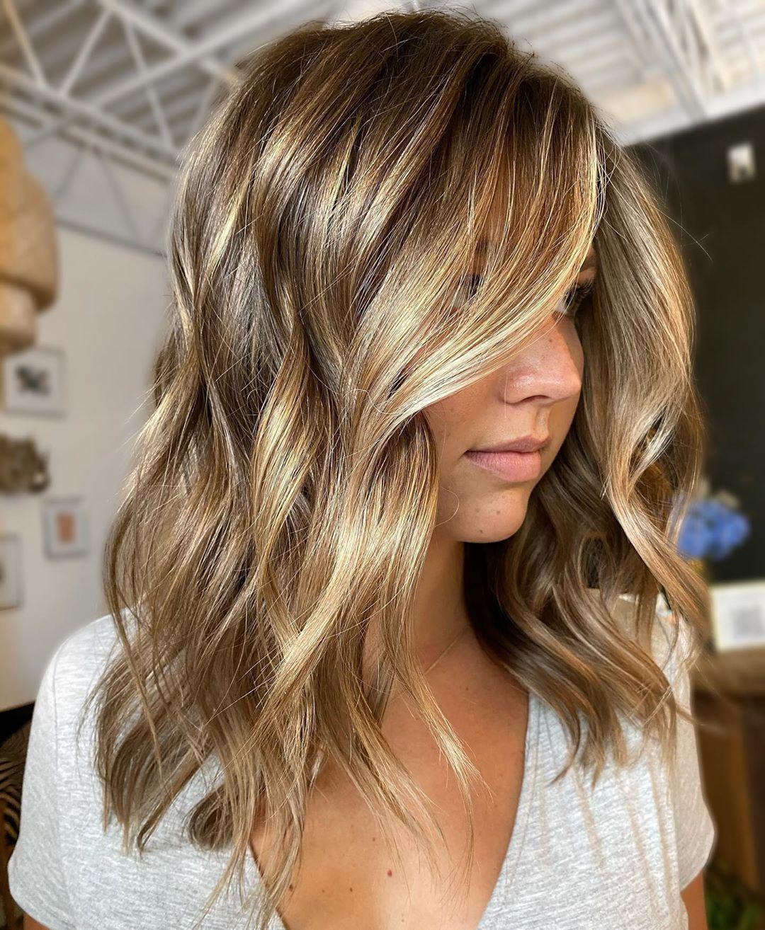 40++ Medium layered haircuts for thin hair inspirations