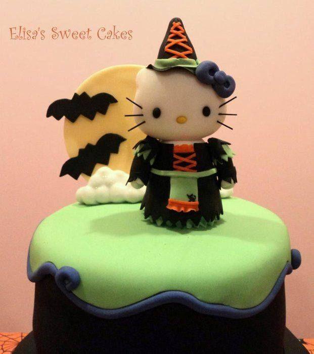 Hello Kitty Bolos Pinterest Hello kitty and Kitty - hello kitty halloween decorations