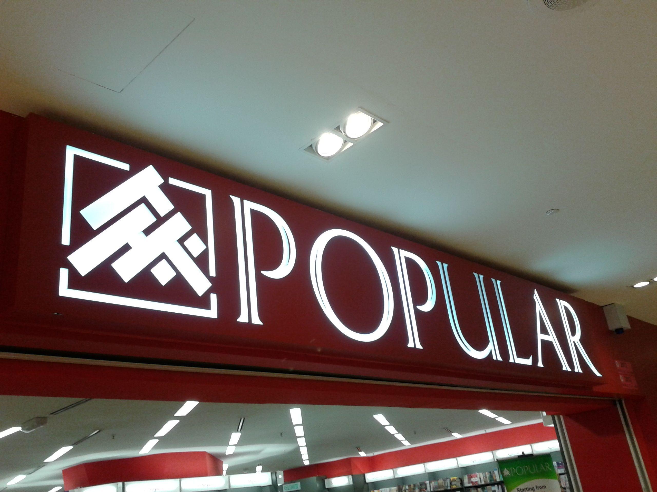 A Bookstore Called Popular Location Johor Bahru Malaysia Places