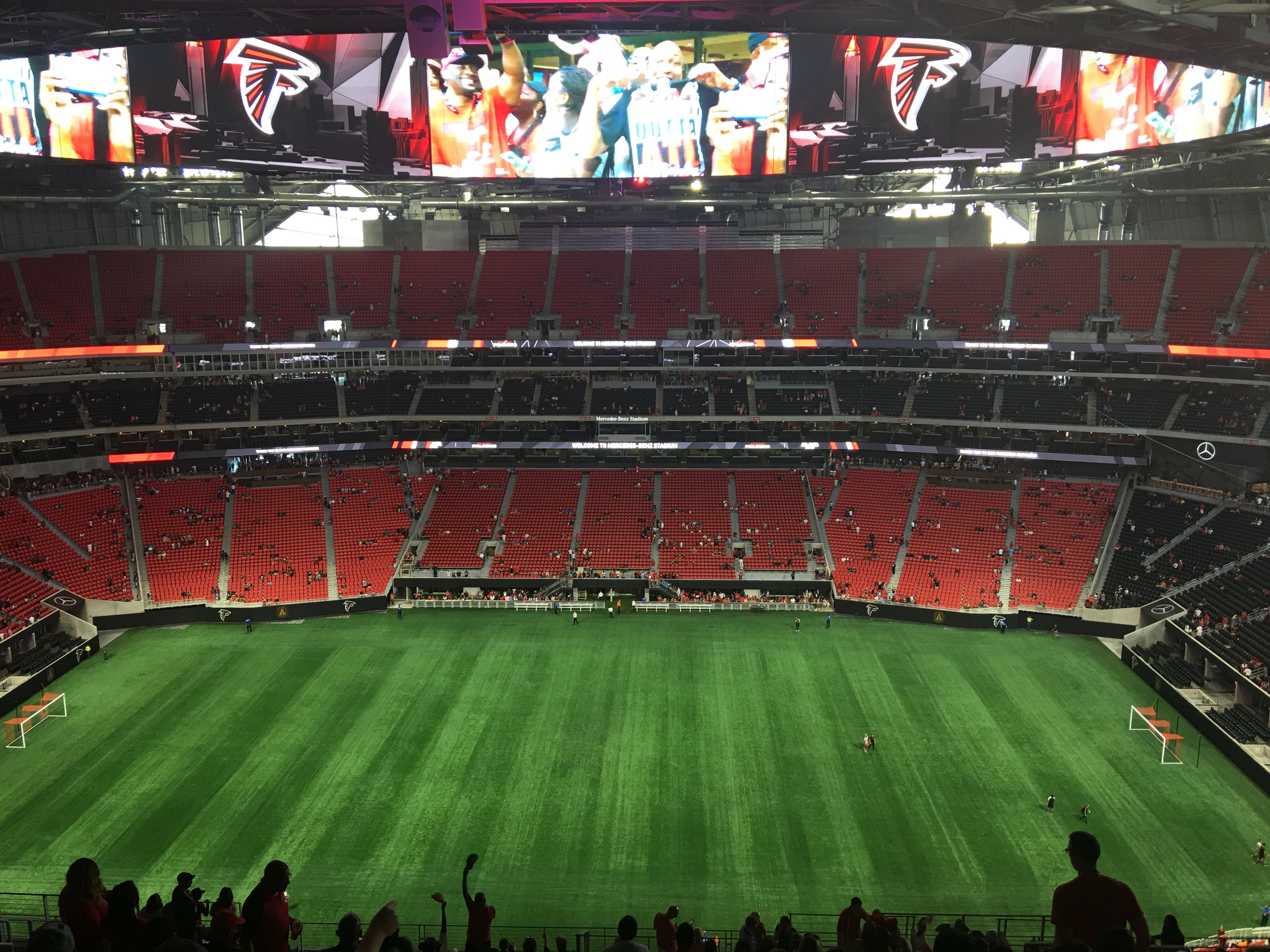 Everyone loves some football so why not go to the awesome Georgia Dome and see the NFL S Atlanta Falcons play