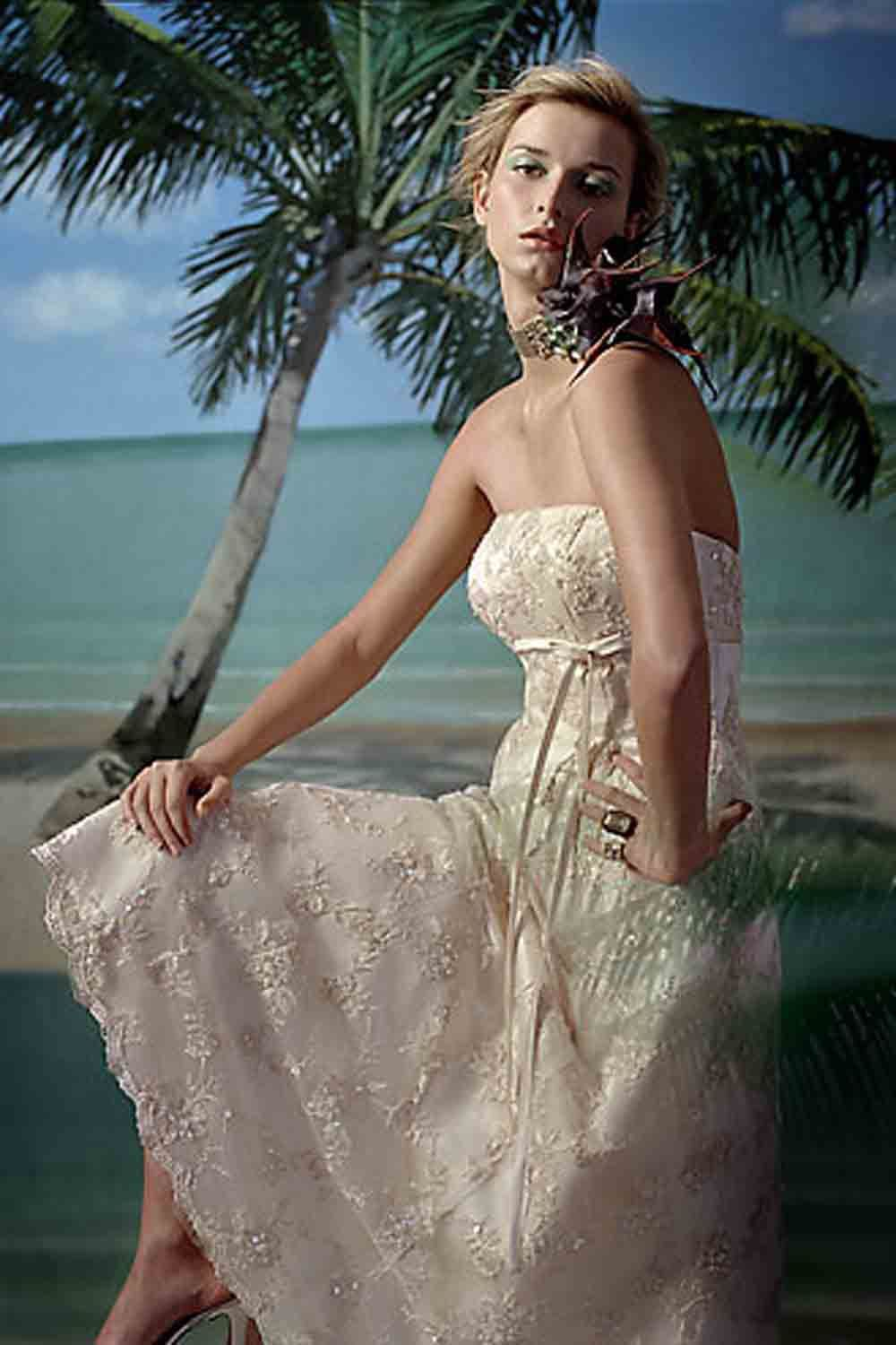 Casual wedding dresses with color  Pin by brenda on Lissaus Wedding  Pinterest  Casual wedding