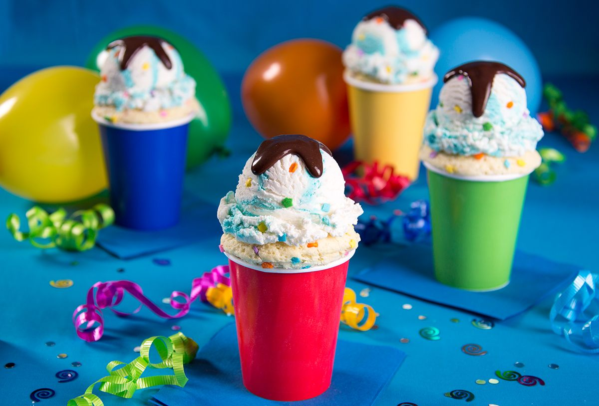 Blue Bunny Ice Cream Cake Cups This recipe for individual birthday