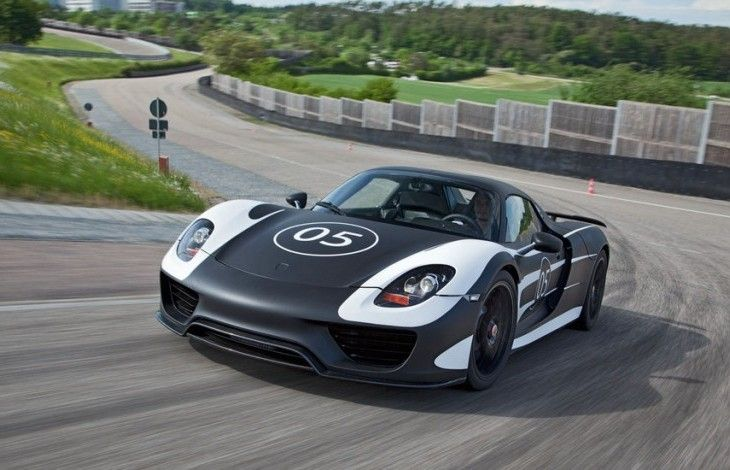 Porsche 918 Spyder a fost prezentat la Goodwood Festival of Speed