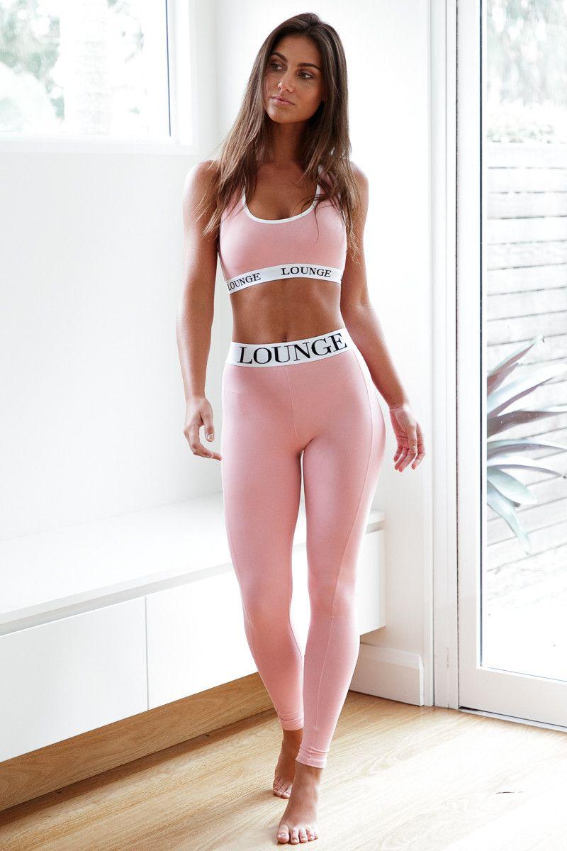c2ea203e9e681f REBORN Pink High Waisted Leggings Set | Fashion Diva | Pink leggings ...