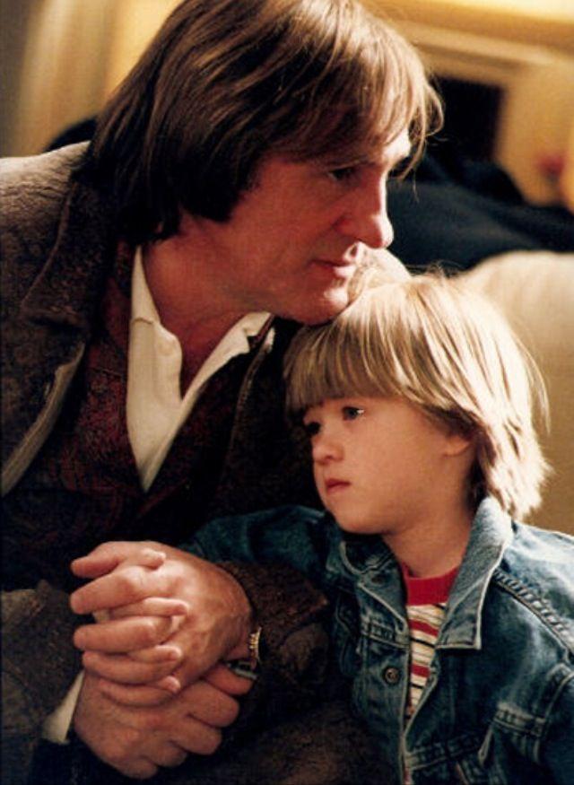 Haley Joel Osment and Gerard Depardieu in Bogus 1996