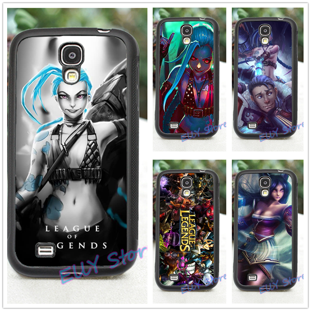 League Of Legends Jinx Fashion Cover Case For Samsung Galaxy S3 S4