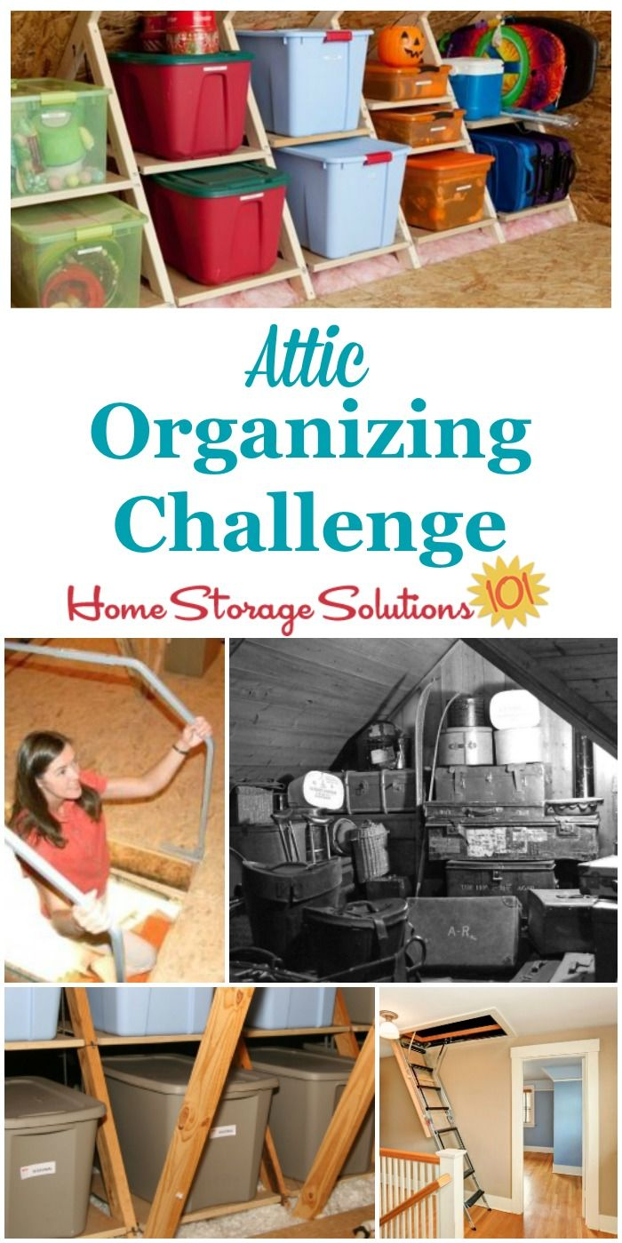 attic organizing tips for this long term storage area in on innovative ideas for useful beds with storages how to declutter your bedroom id=98106