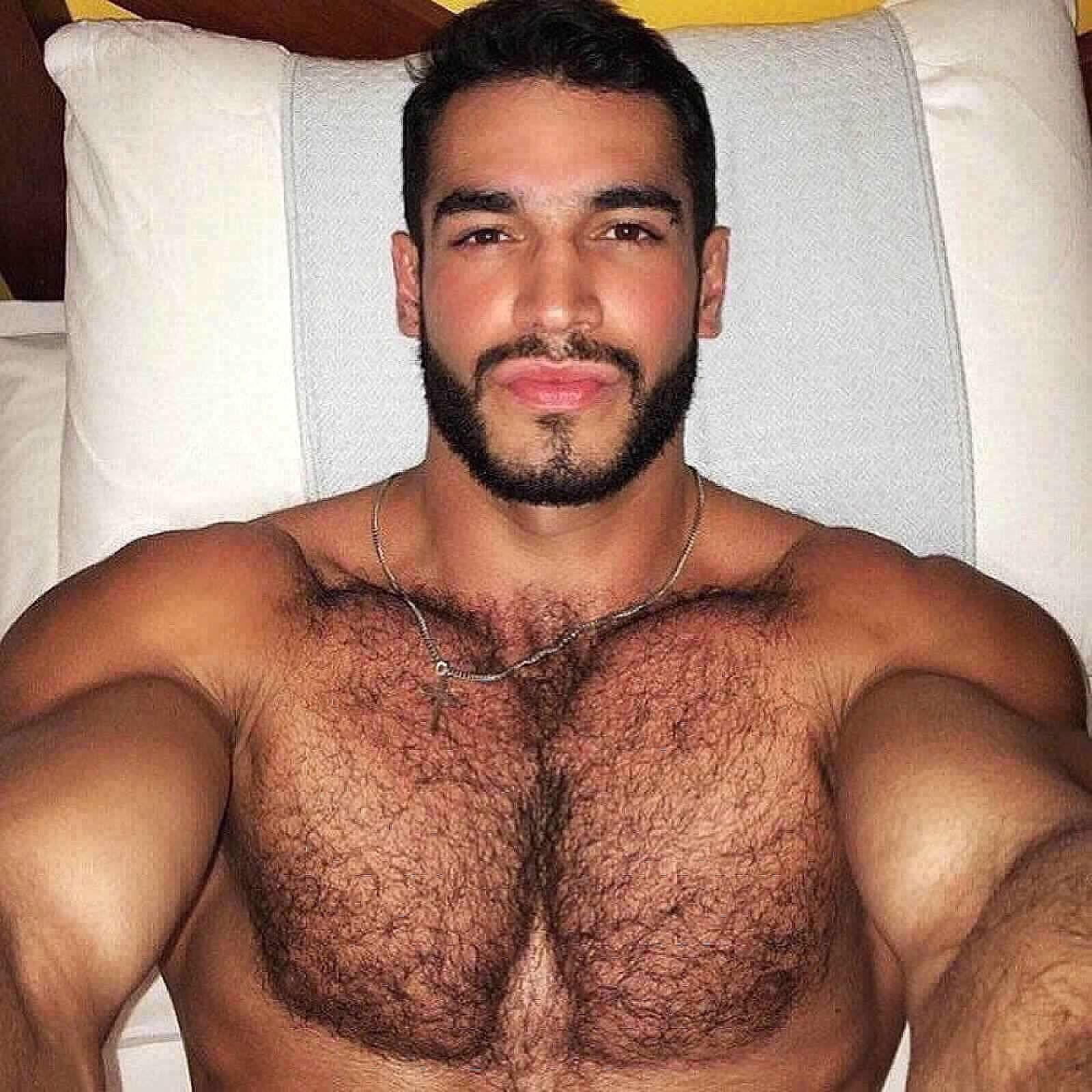 Hairy latin guys