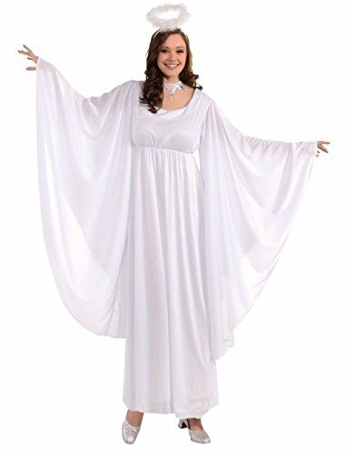 Adult Lady Angel Costume | Christmas_Women's Fashion