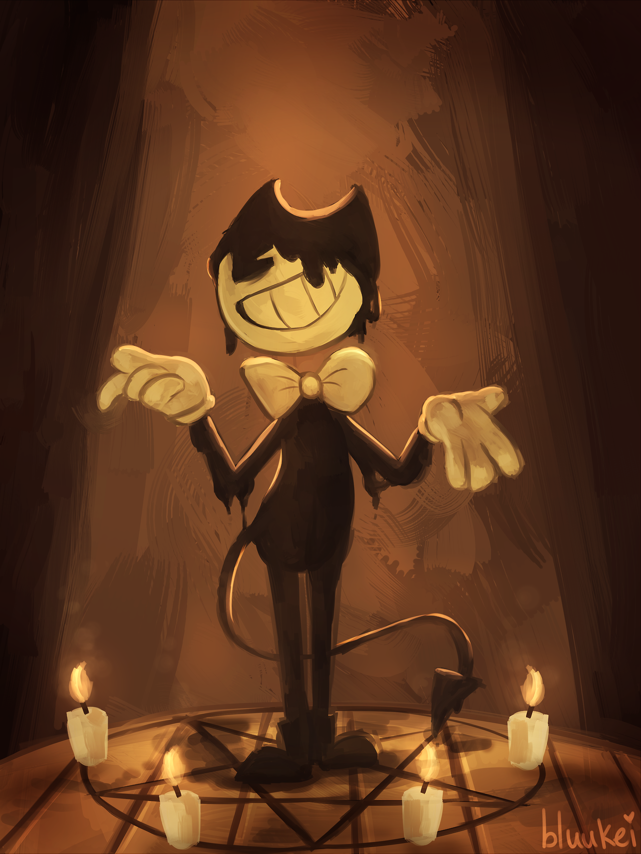 Awesome bendy and the ink machine fan art | Bendy and the ...